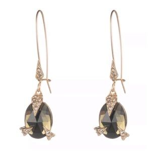 ALEXIS BITTAR • Crystal Futuristic Drop Earrings
